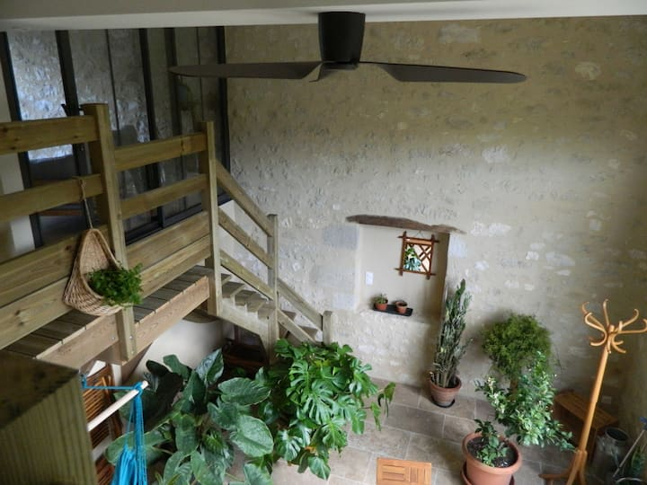 Aux Jardins du Lardot, location bucolique