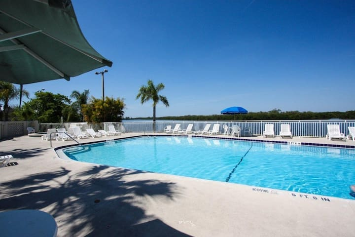 Water View and Sunset Beach Townhome