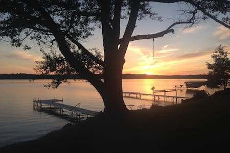 Great Family-Ranch on Torch Lake - Ház