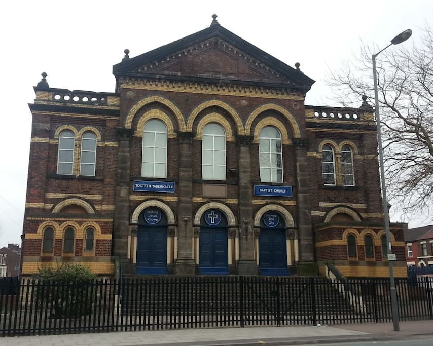 The Toxteth Tabernacle is very close to my house