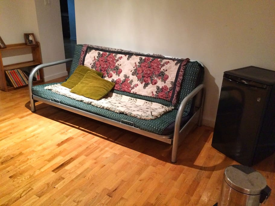 Futon for extra people