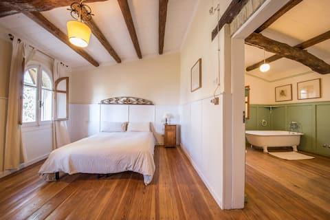 Romantic apartment Ideal for a couple! Garden&view