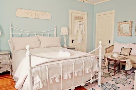 vintage chic nautical room - Schenectady - Bed & Breakfast
