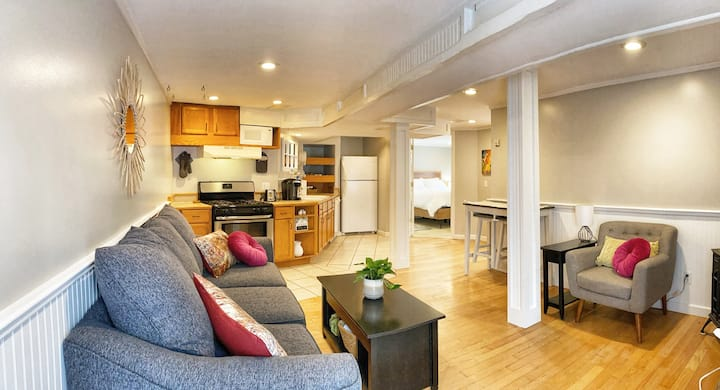 Two-bedroom in-town apartment