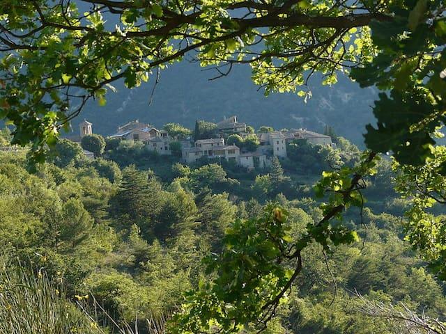 Monteolivo-en-Provence, maison de charme, piscine - Montaulieu - บ้าน