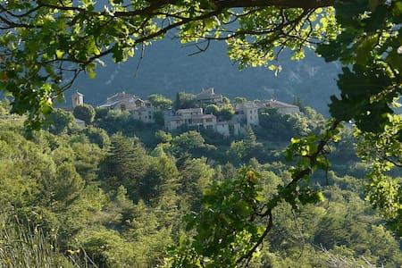 Monteolivo-en-Provence, maison de charme, piscine - Montaulieu - Huis