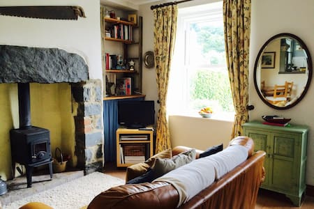 Lovely Welsh Village Cottage - Llanfairfechan - Casa