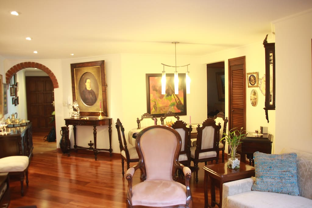 Living & dining room