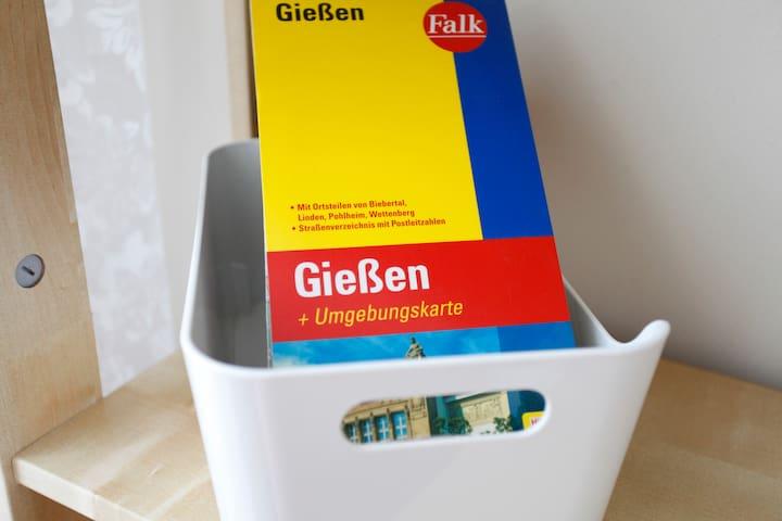 Helles Balkonzimmer 5km von Gießen