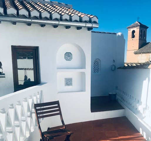 Heart of Albaicín, in beautiful traditional house