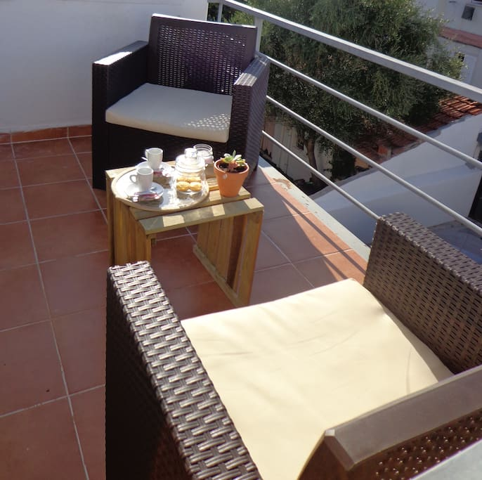 «The terrace was so nice to sit in the morning for breakfast or in the evening to relax »
