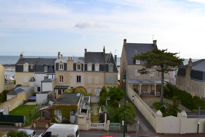Charmant appartement avec vue sur mer - Saint-Aubin-sur-Mer - Daire
