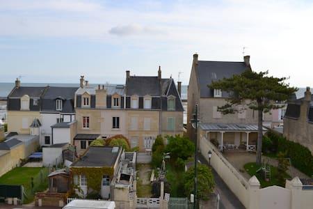 Charmant appartement avec vue sur mer - Saint-Aubin-sur-Mer - Wohnung