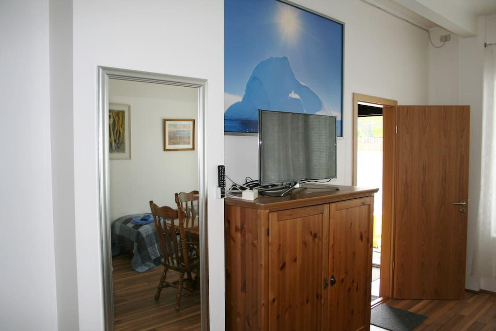 Private Entrance / TV