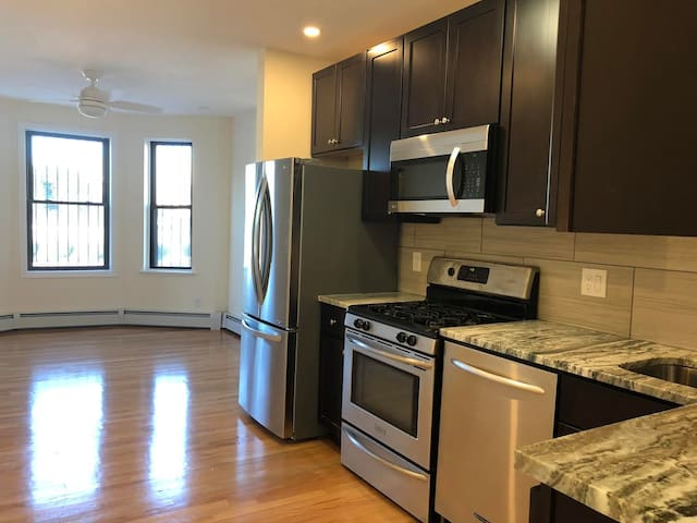 Newly renovated South End 2 bedroom apartment