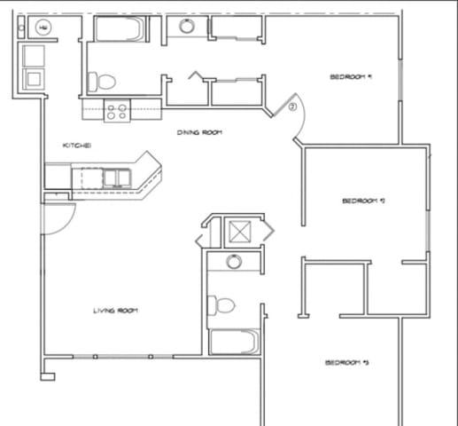 Charming 3 bedroom apartment 2 bath - Salisbury - Wohnung