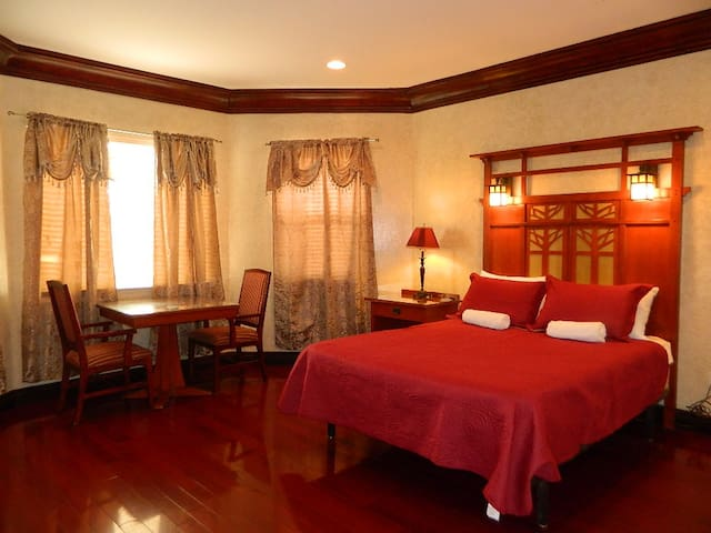 ♖The Mansion / Guest room #2 w/PRIVATE bathroom