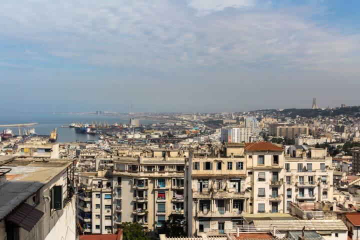 Las mejores vistas sobre la bahia de Argel