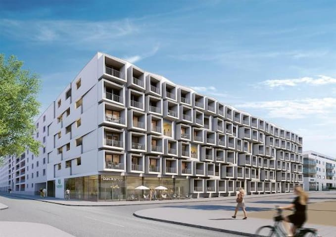 Mikro-Apartment direkt bei Messe München-Riem