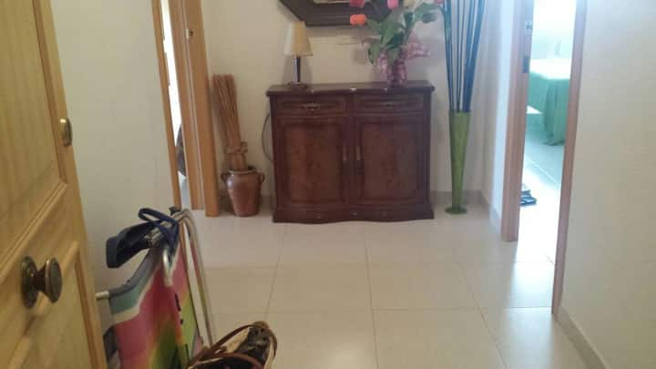 Se alquila apartamento 1° línea frontal Benicasim
