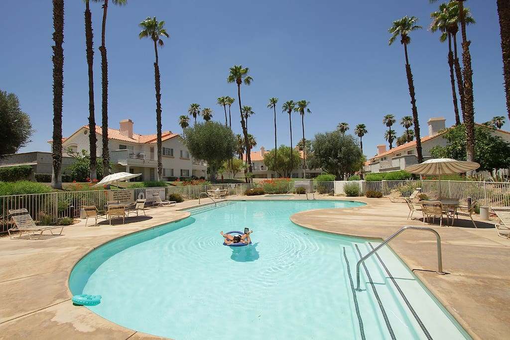It is a Beautiful Day to take a Swim! There r 23 Pools for you to Enjoy.