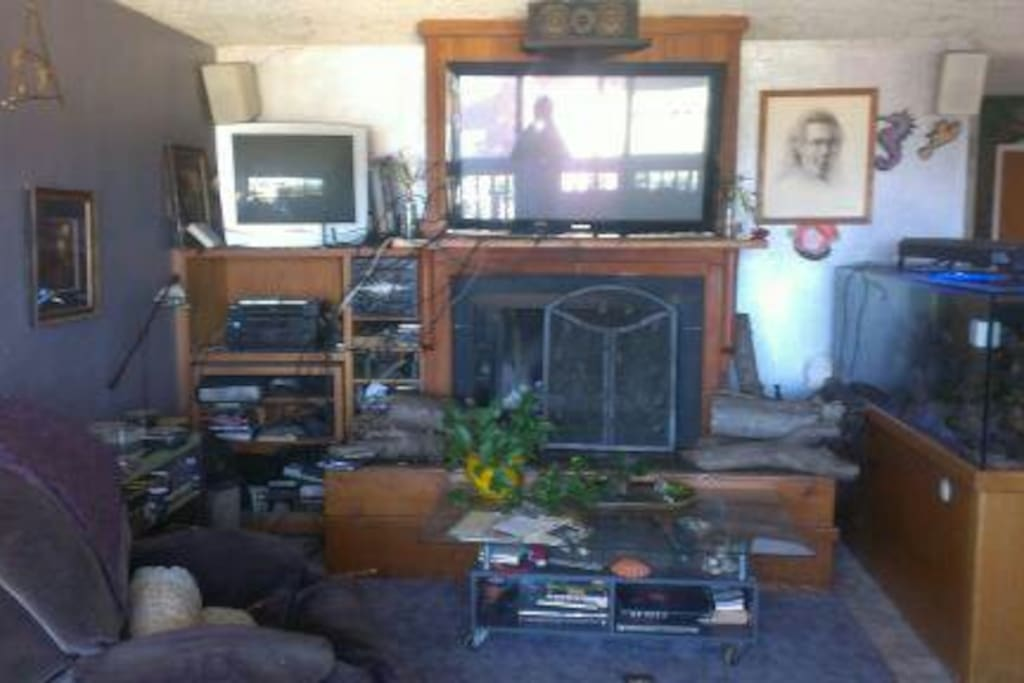 This is the Living room TV with 5.1 sound system