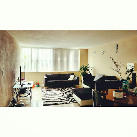 You can walk to metro train - Miami - Apartment