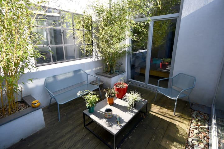 Loft lumineux (quartier européen) - nettoyage pro
