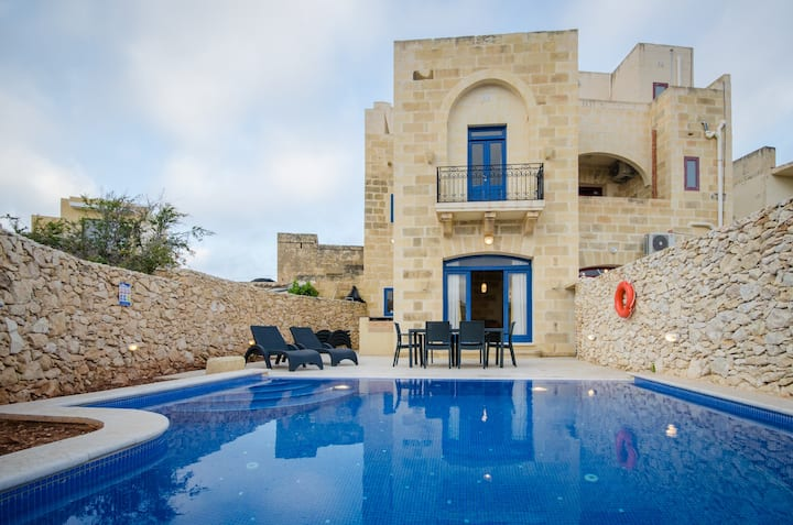 Andrea Holiday home;private pool,tranquility,Gozo