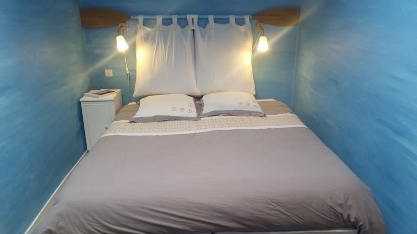 Chambre lits rapprochés