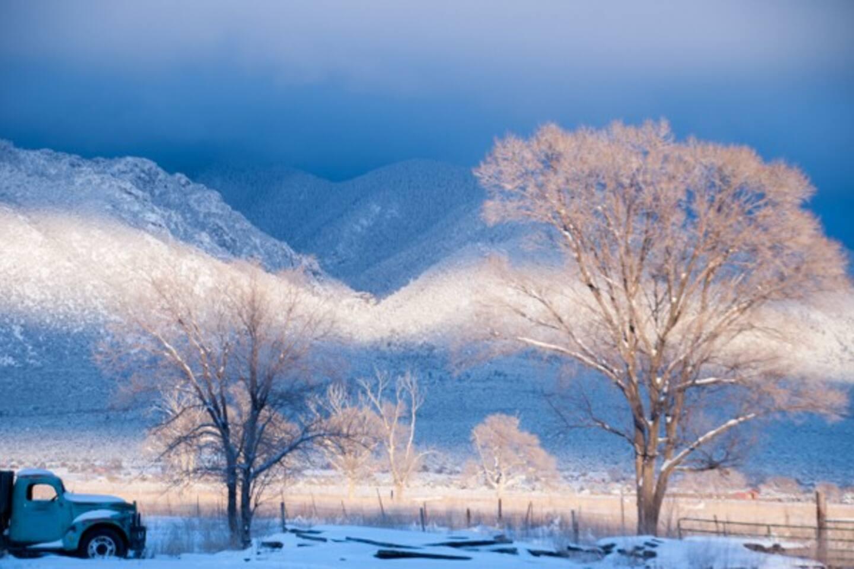 Taos Mountain (photo taken in El Prado)