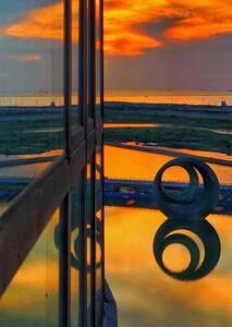 豪华湖景园景家庭投影房