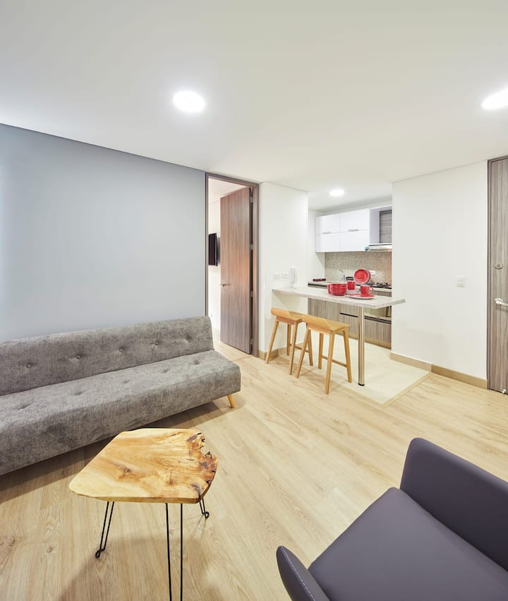 TB1304 - New 1 bed flat with amazing views