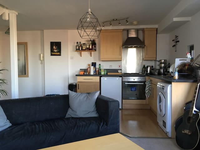 Penthouse apt close to city centre & universities - Nottingham - Apartment