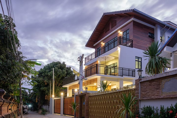 New modern house in Chiang Mai's Old City