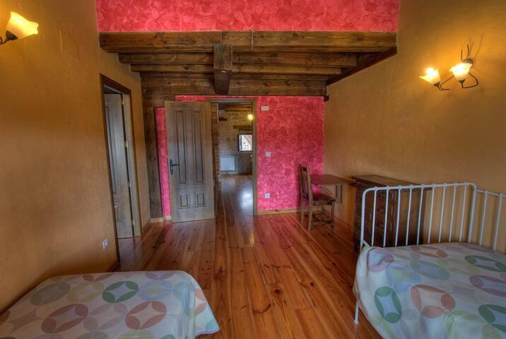 habitación con dos estancias