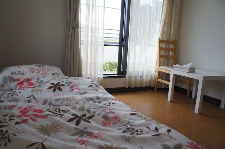 Sunny room with a big balcony - Yotsukaido - Haus