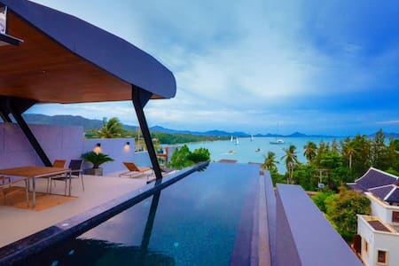Holiday Private Sea view Pool villa -  Rawai