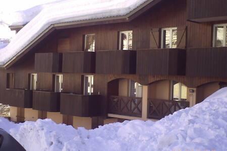 Studio cabine au pied des pistes - Allos - Apartmen
