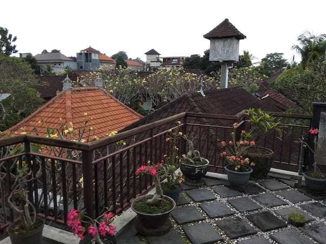 Room with Balcony in Balinese Family compound