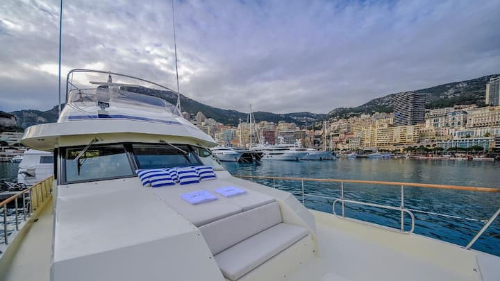 ☆ LUXURIOUS YACHT IN THE HEART OF MONACO ☆