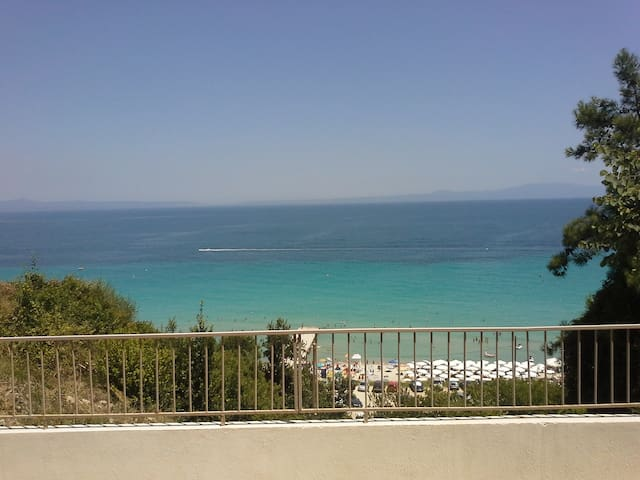 Breathtaking view in Kalithea