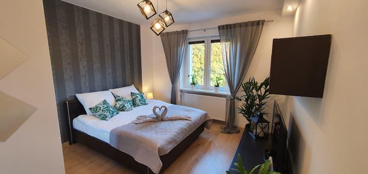 Apartament A&S Widok w Wałbrzychu