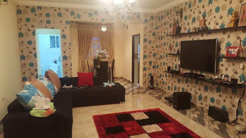 Home away from Home _luxury and clean space - Port Harcourt - อพาร์ทเมนท์