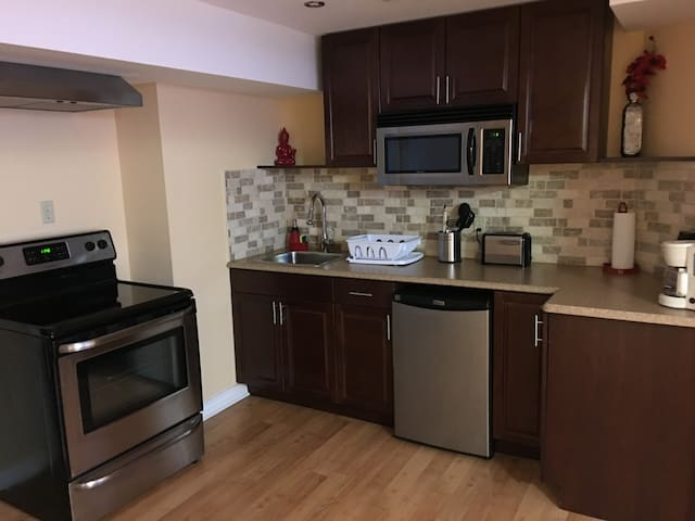 Cozy Full Basement with Separate Entrance