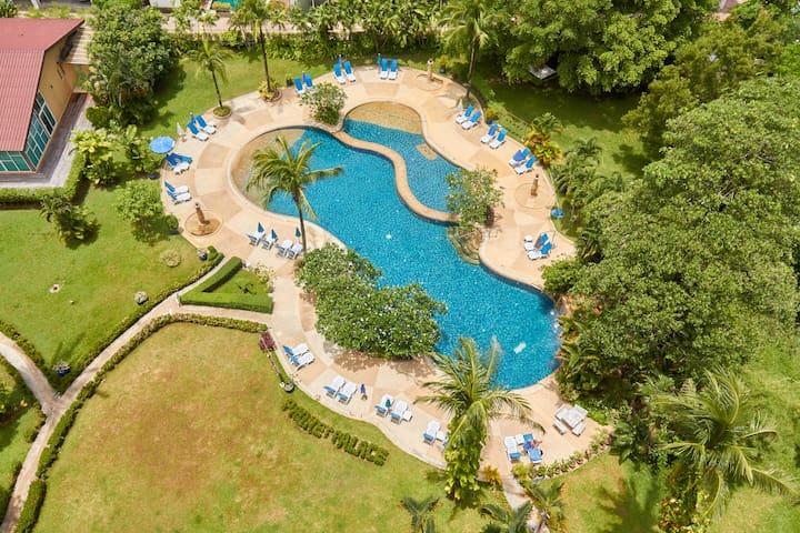 Phuket Palace Resort  - große Studio 54m2 - Phuket - Wohnung