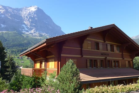 Cozy home in full view of Eiger - Grindelwald - Apartment
