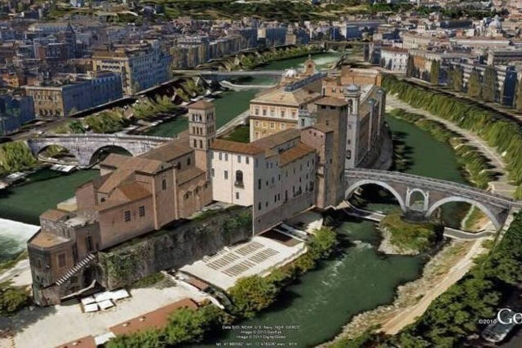 Isola Tiberina in 3D