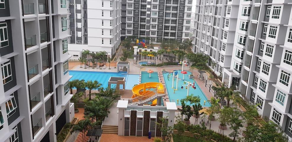 Resort Concept Luxury Condo in Central Malacca.