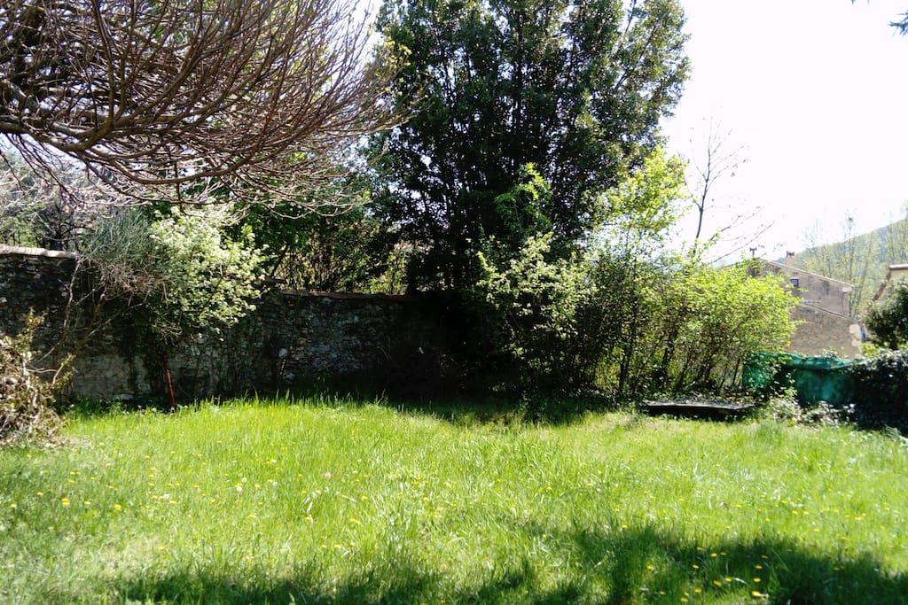 Jardin arboré